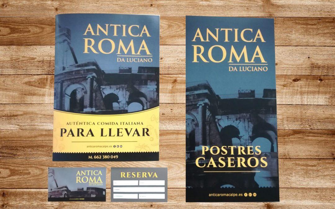 Renovando la imagen de Antica Roma Calpe
