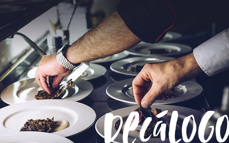 Descubre los 10 mandamientos del marketing para restaurantes