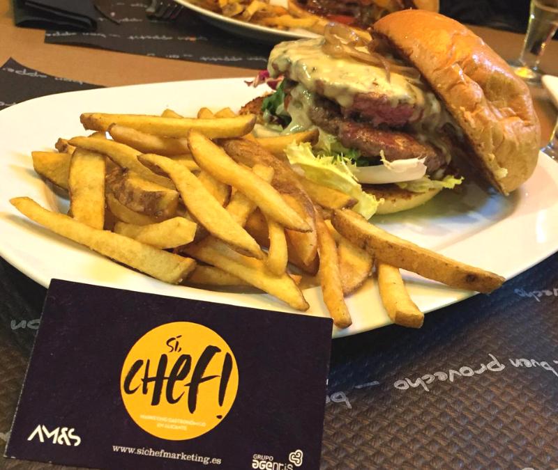 Experiencia gastronómica en  hamburguesería CIBUM