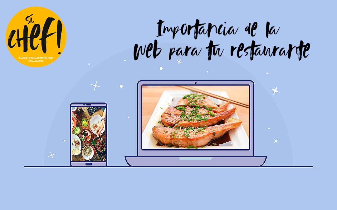 Te contamos lo importante que es tener una web en tu restaurante.