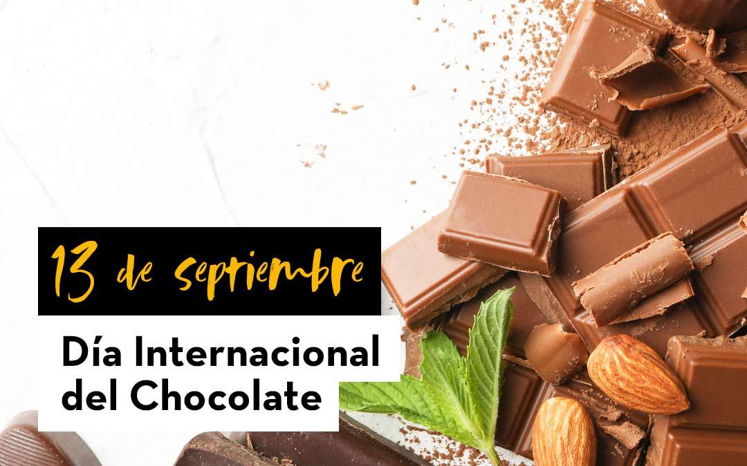 13 DE SEPTIEMBRE- DÍA MUNDIAL DEL CHOCOLATE
