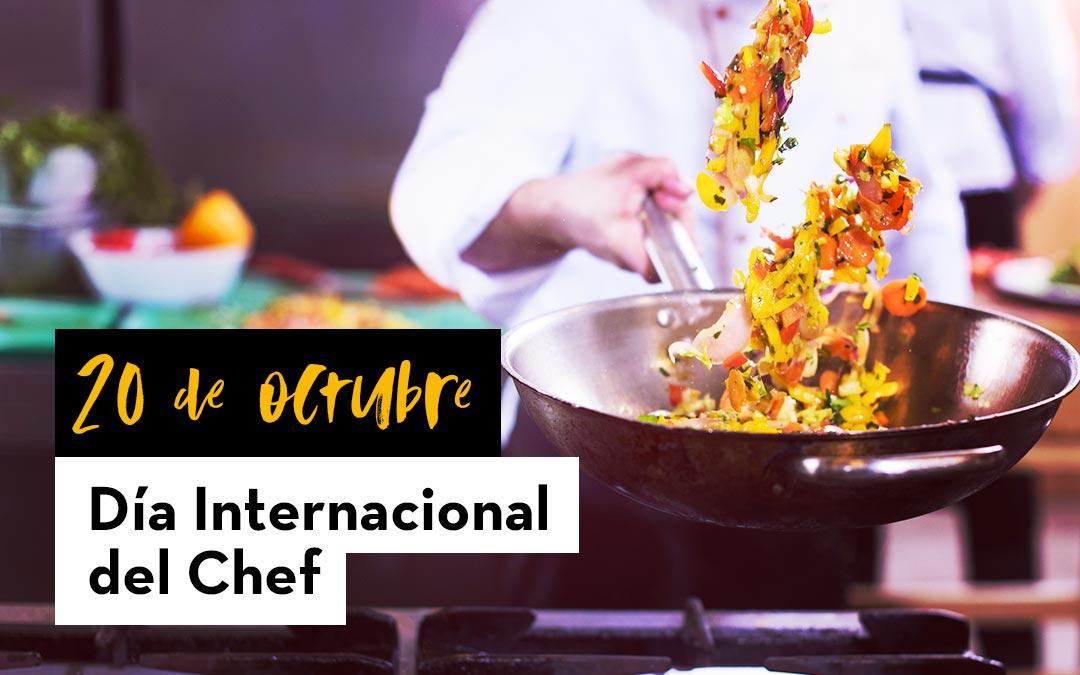 20 de octubre. Día Internacional del Chef